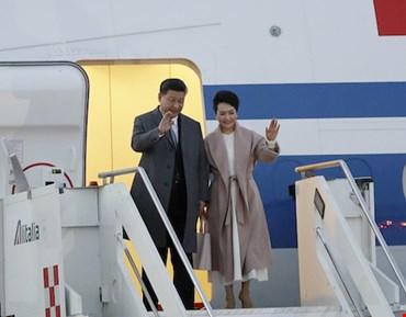 Il presidente cinese Xi Jinping è a Roma