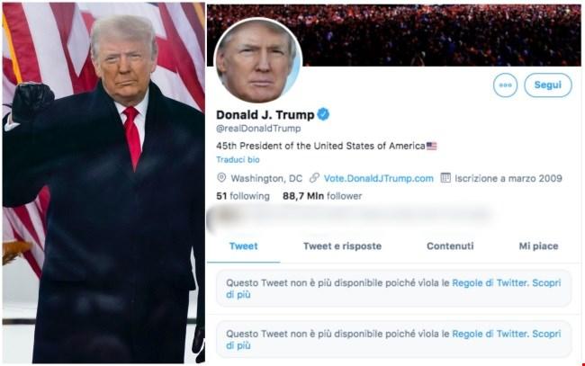 Social wars: Twitter paga in Borsa lo stop a Trump. E in Italia blocca  Libero - MilanoFinanza.it