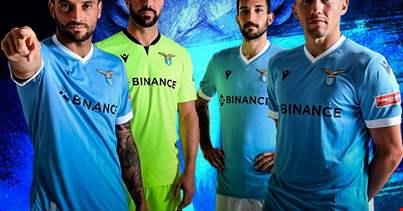 Lazio, Binance new jersey sponsor.  The fan token is coming